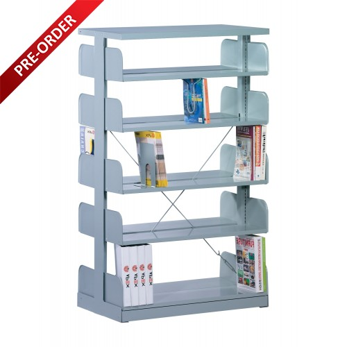 1 BAY DOUBLE SIDED  C/W 5 PCS OF SHELF (ST-E0112)