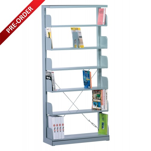 1 BAY SINGLE SIDED C/W 6 PCS OF SHELF  (ST-E0114)