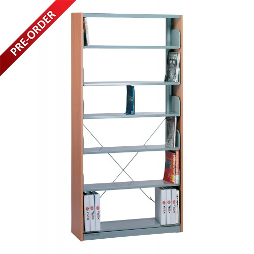1 BAY SINGLE SIDED C/W 6 PCS  OF SHELF & END PANEL (ST-E0115)