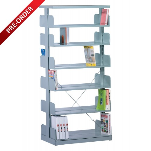 1 BAY DOUBLE SIDED C/W 6 PCS OF SHELF (ST-E0116)