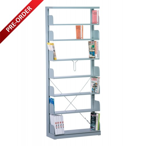 1BAY SINGLE SIDED C/W 7 PCS OF SHELF (ST-E0118)