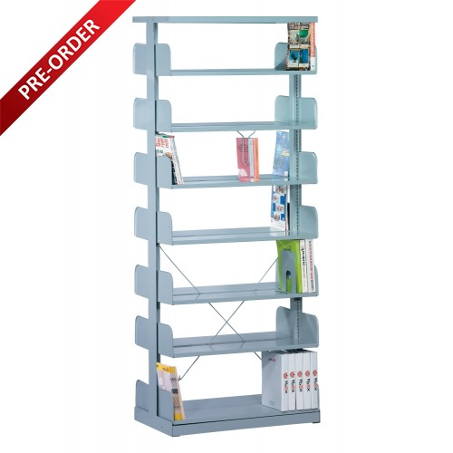 1 BAY DOUBLE SIDED C/W 7 PCS OF SHELF (ST-E0120)
