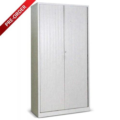 FULL HEIGHT ROLLER SHUTTER DOOR CUPBOARD LIGHT GREY (WS-78RS)