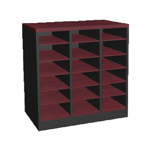 18 PIGEON HOLE CABINET  (WK-MB-76-18P)