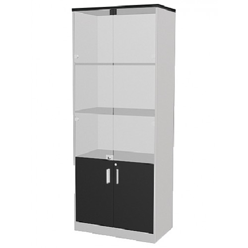 HIGH CUPBOARD WITH SWING GLASS DOOR (WK-ML-210-G1)