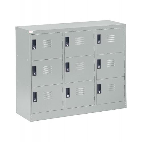 HALF HEIGHT 9 DOOR STEEL LOCKER (ST-H9D)
