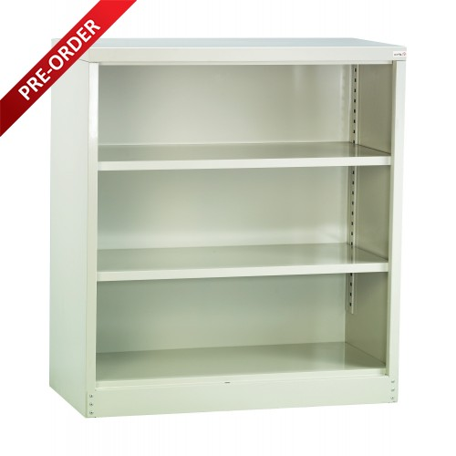 HALF HEIGHT CUPBOARD WITH 2 ADJUSTABLE SHELVES (ST-112 W))