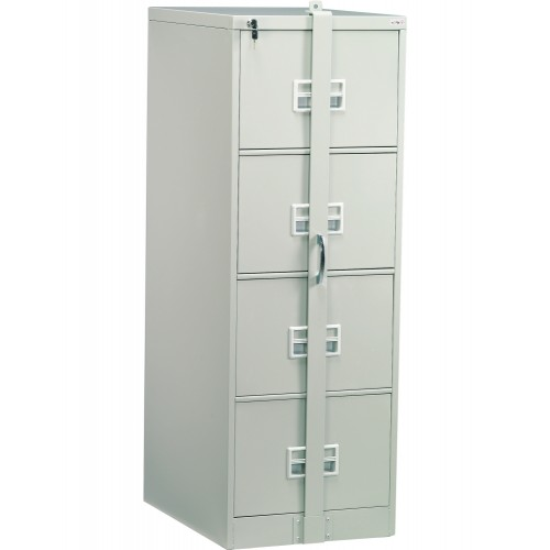 4 DRAWERS FILING CABINET WITH LOCKING BAR (ST-106A LB)