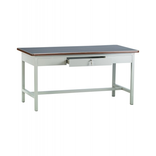 4' WORKMAN TABLE WITH CENTRE DRAWER (ST-101A)