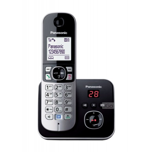PANASONIC DIGITAL CORDLESS PHONE (KX-TG6821MLB)