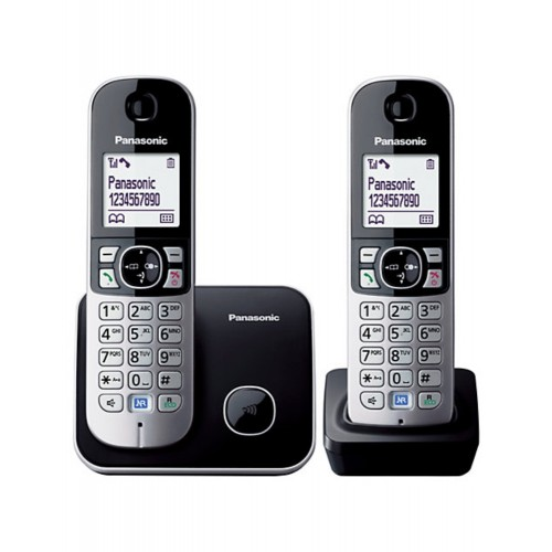 PANASONIC DIGITAL CORDLESS PHONE (KX-TG6812MLB)