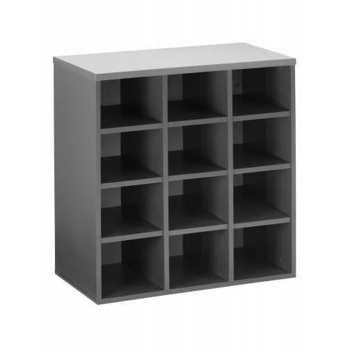 12 PIGEON HOLE CABINET (YH 12P)