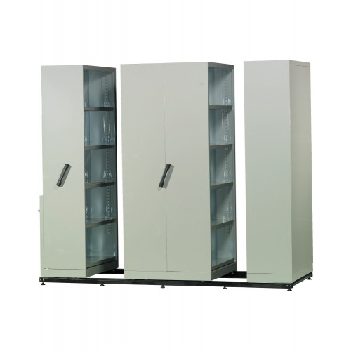 4 BAY MOBILE COMPACTOR (ST-138-4B)