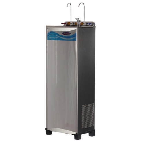 DIRECT PIPED-IN HOT & COLD STAINLESS STEEL WATER COOLER