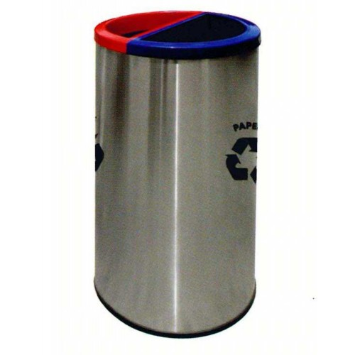 STAINLESS STEEL RECYCLE BIN (SUGO-1011)