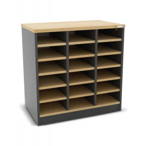 18  PIGEON HOLE CABINET (WK-MG-76-18P)