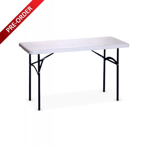 BANQUET 4FT RECTANGULAR PLASTIC TABLE (BQ-1260RT)