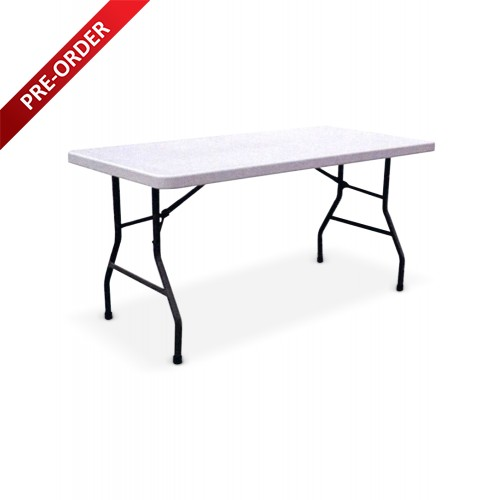 BANQUET 5FT RECTANGULAR PLASTIC TABLE (BQ-1574RT)