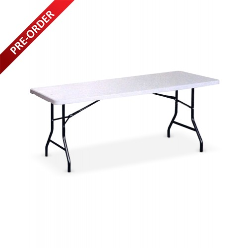 BANQUET 6FT RECTANGULAR PLASTIC TABLE (BQ-1874RT)