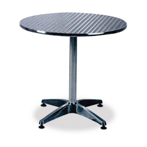 ROUND ALUMINIUM CAFE TABLE (ATR700, 800 & 900)