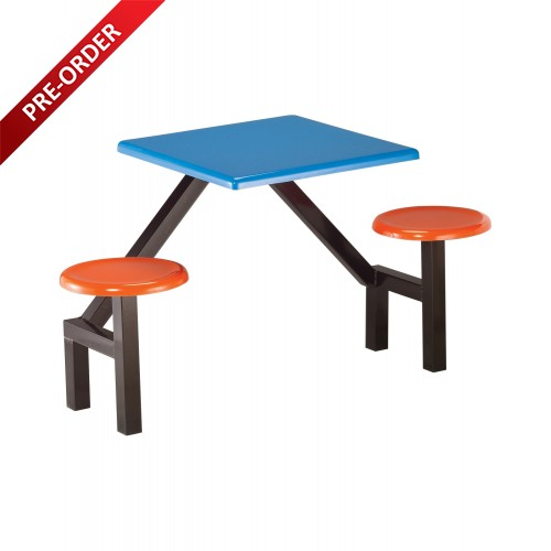2 SEATER FIBREGLASS TABLE (RD-E0143)