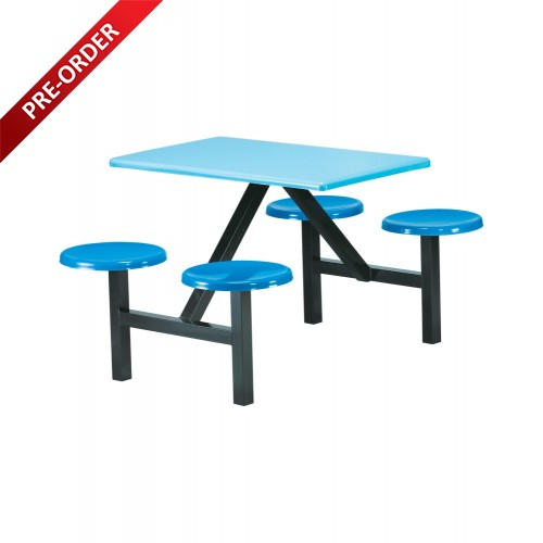 4 SEATER FIBREGLASS TABLE (RD-E0144)