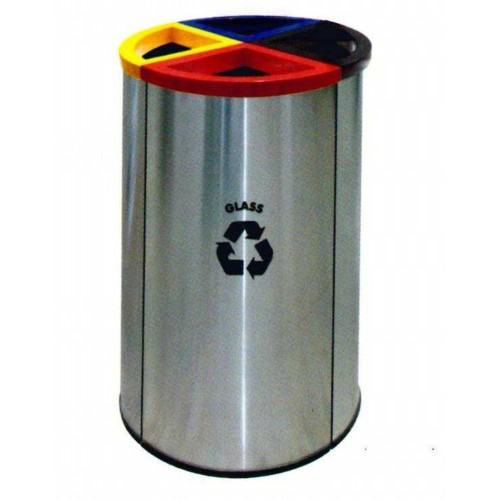 STAINLESS STEEL RECYCLE BIN (SUGO-1012)
