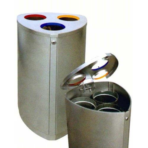 STAINLESS STEEL RECYCLE BIN (SUGO-1013)