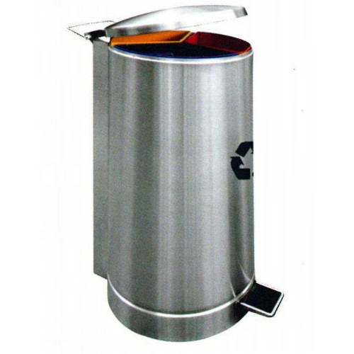 STAINLESS STEEL RECYCLE BIN (SUGO-1031)