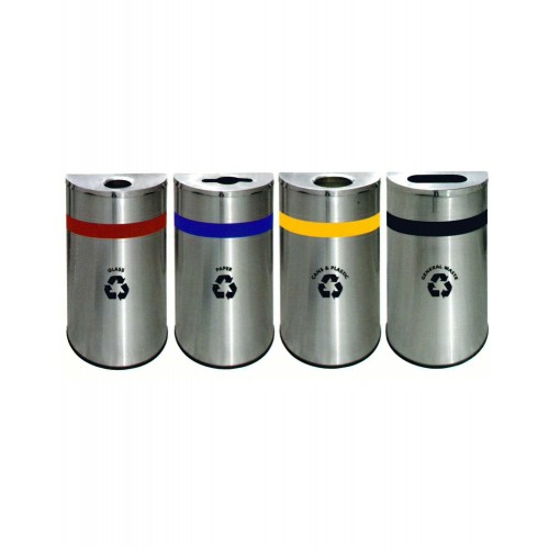 STAINLESS STEEL RECYCLE BIN (SUGO-1015)