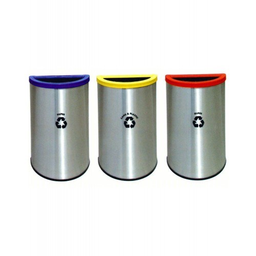 STAINLESS STEEL RECYCLE BIN (SUGO-1016)
