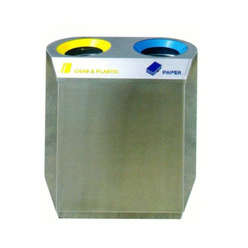 STAINLESS STEEL RECYCLE BIN (SUGO-1026)