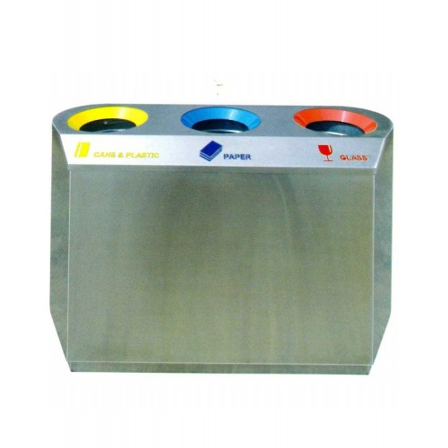 STAINLESS STEEL RECYCLE BIN (SUGO-1027)