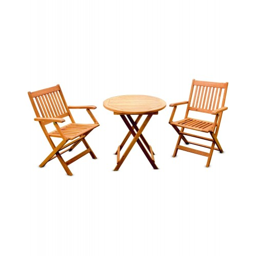 CAFE / GARDEN SET (HK MANHATTAN ARM CHAIR + HK EDEN TABLE R700 (2+1))