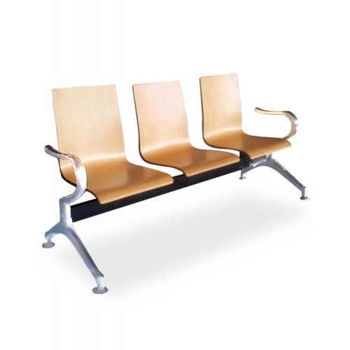 3 SEATER BENTWOOD LINK CHAIR (SJAC-820-3W)