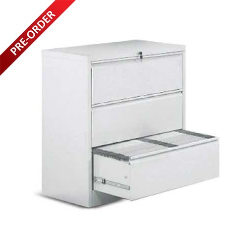 3 DRAWER LATERAL FILING CABINET (LF30)