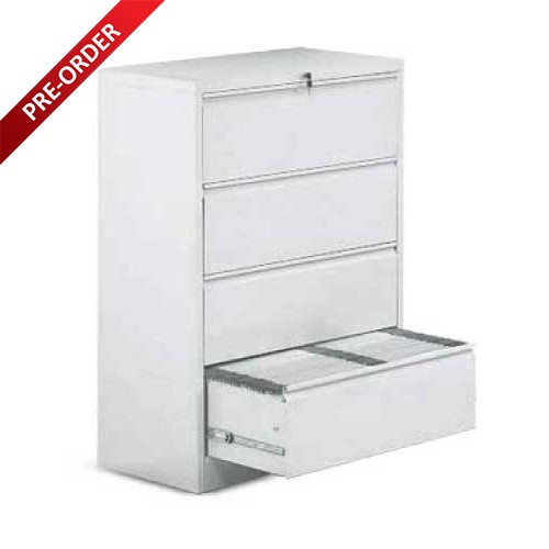 4 DRAWER LATERAL FILING CABINET (LF40)
