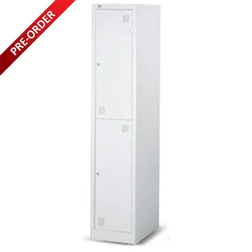 SINGLE COLUMN 2 COMPARTMENTS LOCKER (LS02)
