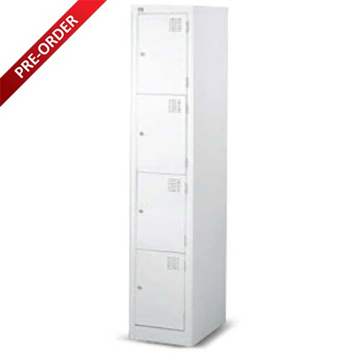SINGLE COLUMN 4 COMPARTMENTS LOCKER (LS04)