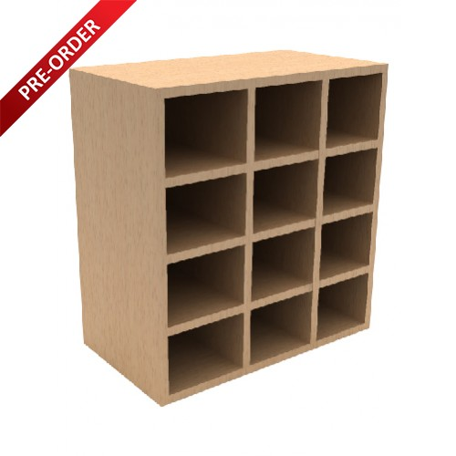 FO SERIES 12 PIGEON HOLE CABINET (FO PG)