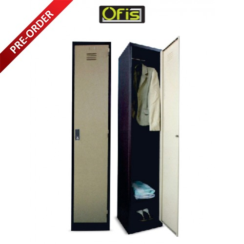 1 COMPARTMENT STEEL LOCKER (OF-S114/D OR OF-S114/DS)