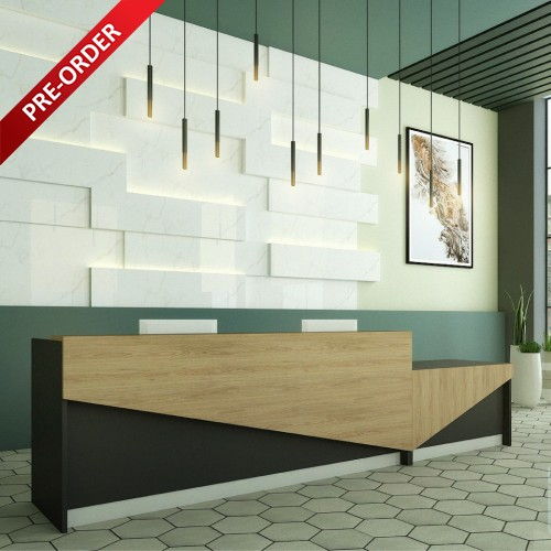 ELEGANT RECEPTION DESK (RC-LM01)