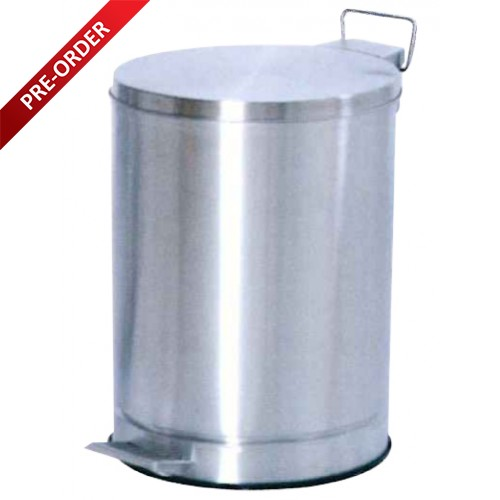 PEDAL STAINLESS STEEL BIN (SUGO 152)