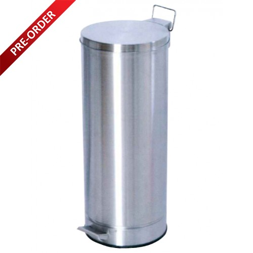 PEDAL STAINLESS STEEL BIN (SUGO 154)