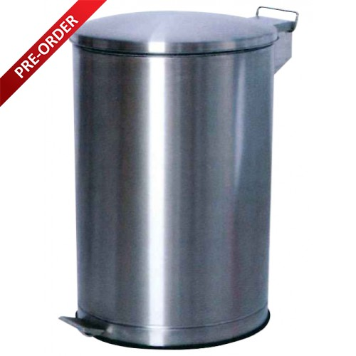 PEDAL STAINLESS STEEL BIN (SUGO 156)