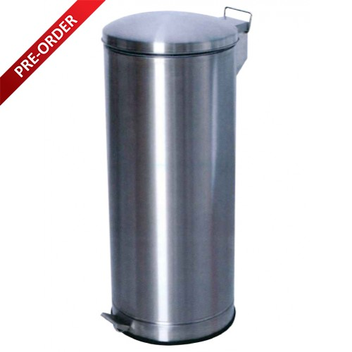 PEDAL STAINLESS STEEL BIN (SUGO 158)